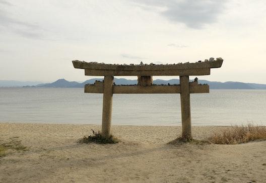 Torii a Naoshima