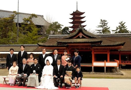 Matrimonio al tempio Shintoista